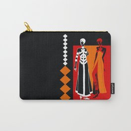 Asian Red Carry-All Pouch