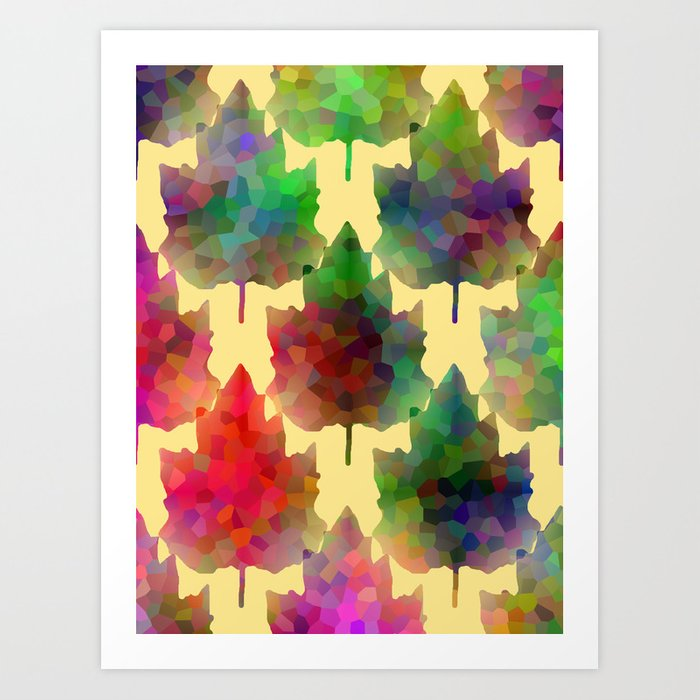 Harvest Colors Art Print