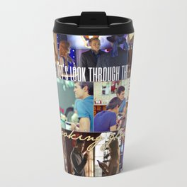 Let's look through the looking glass. Travel Mug