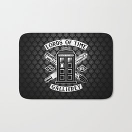 Tardis Lords Of Time Bath Mat