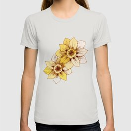 Yellow Flower T-shirt