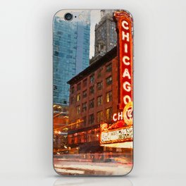 Chicago Panorama iPhone Skin