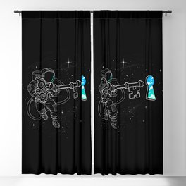 Astral Key Blackout Curtain