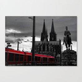 Kölner Dom Canvas Print