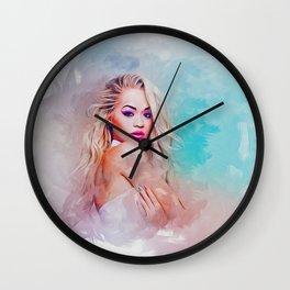 Glamour Girl Wall Clock