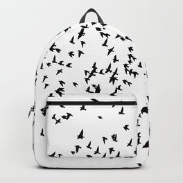 Silhouettes - Flock of Birds Backpack