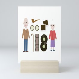 National Grandparents Day Mini Art Print