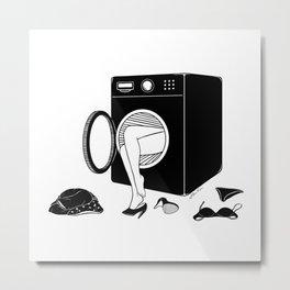 Washing Bad Memories Metal Print