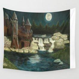 Hogwarts Moonlight Wall Tapestry