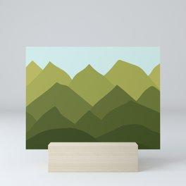 Mountains and Sky Mini Art Print