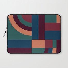 Velvet Blocks Laptop Sleeve