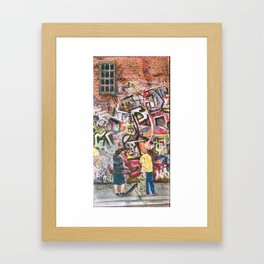 The Art Critics Framed Art Print