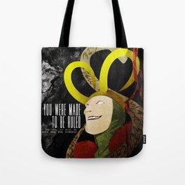 Loki: Made to be Ruled (Invert) Tote Bag