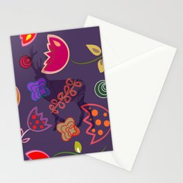 Deer and flower 6 Stationery Cards