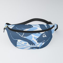 "William De Morgan ""Boxing Hares"" 3. Fanny Pack"
