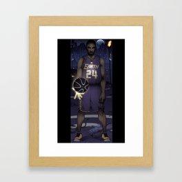 MAMBA Full Framed Art Print
