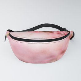 Cherry pink blossoms watercolor painting #11 Fanny Pack