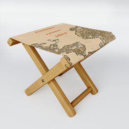 """Trees Of Catalina #2""/Simple Friendship Folding Stool"