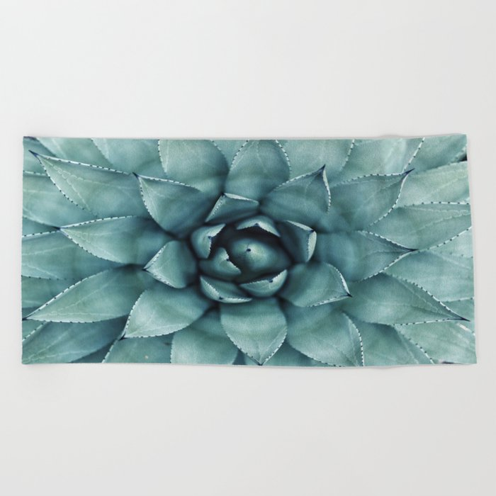 Flower geometric 4 Beach Towel