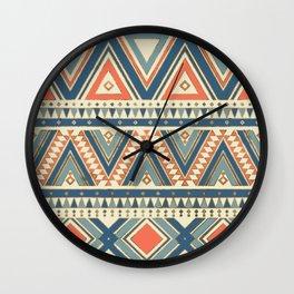 Aztec Ethnic Pattern Art N1 Wall Clock