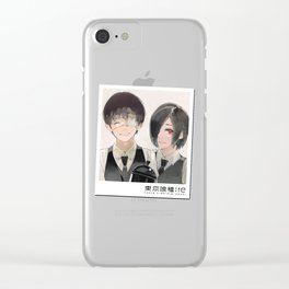 Tokyo Ghoul Re End Clear iPhone Case