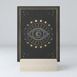 The Third Eye or The Sixth Chakra Mini Art Print