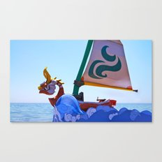 King of Red Lions Canvas Print