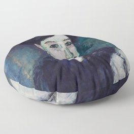 """Amedeo Modigliani """"The Jewess"""" Floor Pillow"""