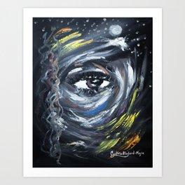 Eye on my Mood Art Print
