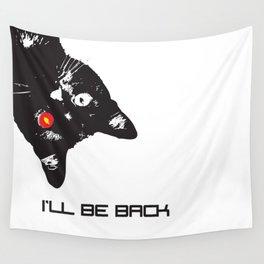 Cat Terminator Wall Tapestry