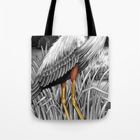 legs Tote Bags featuring Legs by Kim Taggart