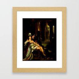 "Gustave Moreau ""Dalila"" Framed Art Print"