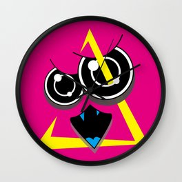EDiT (Original Characters Art By AKIRA) Wall Clock