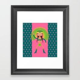 Brazil is Carnival  Framed Art Print