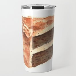 Chocolate Cake Slice Travel Mug