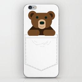 Pocket Bear Partner iPhone Skin