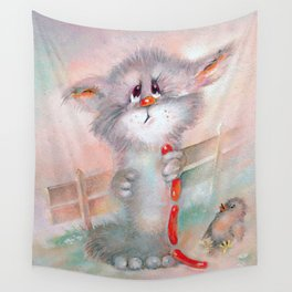 Lucky morning Wall Tapestry