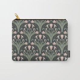Art Nouveau Crocuses Pattern Carry-All Pouch