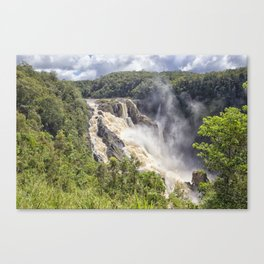 Magnificent Barron Falls Canvas Print