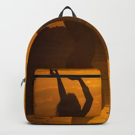 Dancing at Sunset Backpack