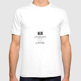 Photography is My Secret Passion design T-shirt