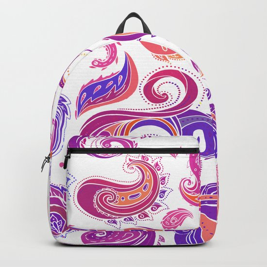 Indian Paisley Pattern 01 Backpack