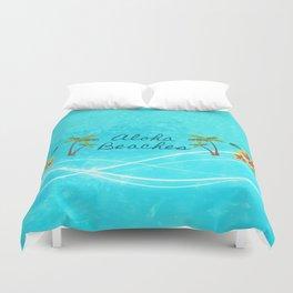 Aloha Beaches Duvet Cover