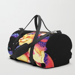Origami dragon Duffle Bag
