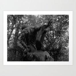 Centaur.  Art Print
