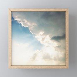 Storm Clouds Framed Mini Art Print