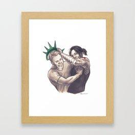 national treasures Framed Art Print