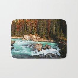 Natural Bridge Falls - Yoho, BC Bath Mat