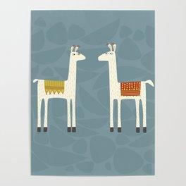 Everyone lloves a llama Poster