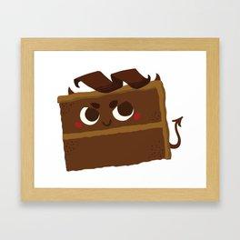 Baby Cakes - Devil's Food Cake Framed Art Print